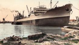 Petrolierle Le Du  Bellay  A Dunkerque Cpsm - Tankers