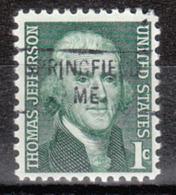 USA Precancel Vorausentwertung Preo, Locals Maine, Springfield 841 - Vereinigte Staaten