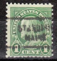 USA Precancel Vorausentwertung Preo, Locals Maine, Standish 712 - Vereinigte Staaten