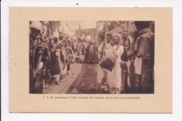CP ETHIOPIE S.M. Le Négous Tafari Sortant De L'église Apres Son Couronnement - Ethiopie