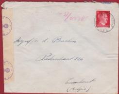 WW2 WWII 1943 Deutsches Reich Hitler 12 Pf. Pfennig Briefmarke Nazi Deutschland Obercommando Wehrmacht - Deutschland