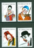 Gibraltar: 2002   Europa - Circus - Famous Clowns   MNH - Gibraltar