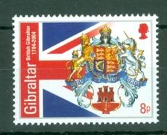 Gibraltar: 2004   300th Anniv Of British Gibraltar   MNH - Gibilterra