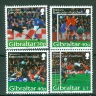 Gibraltar: 2004   European Football Championships, Portugal   MNH - Gibilterra
