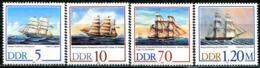 DDR - Mi 3198 / 3201 - ** Postfrisch (F) - 5-10-70-120Pf  Segelschiffe - [6] Oost-Duitsland