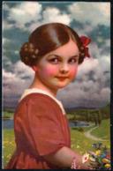 C6099 - TOP Hübsches Kleines Mädchen Mit Blumen - Pretty Young Girl - Novolito - Glückwunschkarte - Portraits