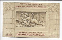 1952 - CARNET CROIX-ROUGE ** (TRES LEGERES ADHERENCES SUR LA GOMME DES TIMBRES) - COTE = 550 EUR. - Carnets