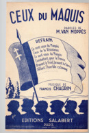 """(guerre 39-45) Partition """"petit Format"""" CEUX DU MAQUIS   (MPA PF 096) - Musique & Instruments"""