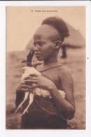CP ETHIOPIE Petite Fille Gouraghée - Ethiopia