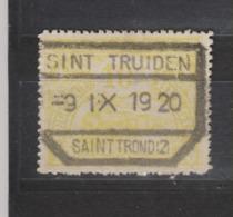 COB 124 Oblitération Centrale ST-TRUIDEN - Chemins De Fer