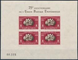 ** 1950 UPU Vágott Blokk Szép állapotban (140.000) - Sin Clasificación