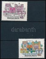 ** 1969 Dunakanyar 40f, Látványos Tévnyomat: Hiányzó Kék és Sárga Színnyomatok. A Szakirodalomban és A Bélyegkereskedele - Sin Clasificación