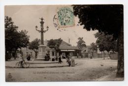- CPA LA GARENNE-BEZONS (92) - La Colonne 1904 (avec Personnages) - - La Garenne Colombes