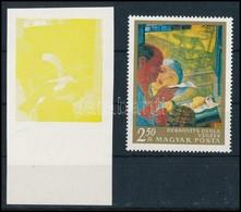 (*) 1967 Festmények III. 2,50Ft ívszéli Vágott Bélyeg Magenta, Ciánkék, Fekete és Arany Színnyomat Nélkül. A Szakirodalo - Sin Clasificación