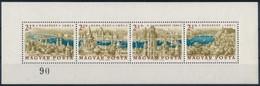 ** 1961 Panoráma Fogazott Kisív '90' Sorszámmal (90.000) (apró Ránc és Gumihibák / Small Crease And Gum Disturbance) - Sin Clasificación