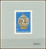 ** 1968 Küldöttközgyűlés Ajándék Blokk Eredeti Tokkal (60.000++) / Mi 2447 Printed As Imperforate Block, Present Of The  - Sin Clasificación
