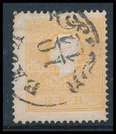 O 1858 2kr II Tipus, Világos Narancs 'BAJA' (60.000) (javított Fogazás) Certificate: Goller - Sin Clasificación