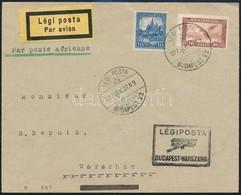 1927 Légi Levél Varsóba - Sin Clasificación