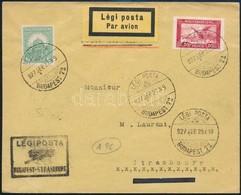 1927 Légi Levél Franciaországba - Sin Clasificación