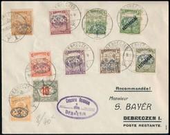 Debrecen 1919 Cenzúrás Helyi Levél. Signed: Bodor - Sin Clasificación