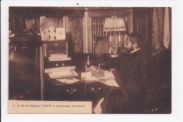 CP ETHIOPIE S.M. Le Négous Tafari à Son Bureau De Travail - Ethiopie