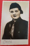 Lithuania 1936 City Siauliai Photo Jaunalietuve  Jadvyga Sileikaitė Su Uniforma - Lithuania
