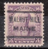 USA Precancel Vorausentwertung Preo, Locals Maine, Walnut Hill 622 - Vereinigte Staaten