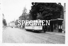 Kleine Foto Tram Kortrijk - Faubourg De Tournai 1954 - Kortrijk