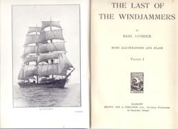 THE LAST OF THE WINDJAMMERS, Vol. I & II, 1963 Glasgow, Normal And Complete Condition, Cornered - Bücher, Zeitschriften, Comics