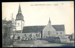 Cpa Du 22 Saint Potan L' Eglise  Canton Pleneuf  LZ111 - Pléneuf-Val-André