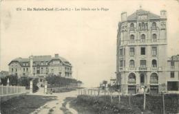 ÎLE SAINT CAST - Les Hôtels Sur La Plage. - France