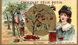 CHOCOLAT FELIX POTIN LE CERISIER CONFITURES CERISES A L'EAU DE VIE - Chocolat