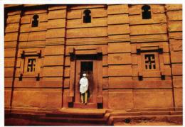 1 AK Äthiopien Ethiopia * Felsenkirche Bet Emmanuel In Lalibela - Erbaut Im 12. Jh. - Seit 1978 UNESCO Weltkulturerbe - Äthiopien