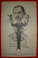 Guignol à Paris - Illustration De Luc Mégret - Gaston Cony Président Fondateur De Nos Marionnettes Membre De La Société - Spectacle