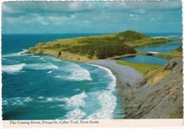 Presqu'ile Cabot Trail, Nova Scotia - The Coming Storm, Cabot Trail, Nova Scotia  - (Canada) - Cape Breton