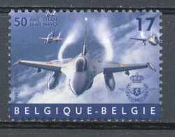 [154027]TB//**/Mnh-[2810] Belgique 1999, 50 Ans De L'OTAN-NATO, Avion De Combat F16, Force Aérienne, SNC - Avions