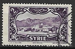 SYRIE     -      1930  .  Y&T N° 206 Oblitéré.    Antioche - Oblitérés
