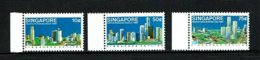 Singapore 1987 Sc # 499 / 501  MNH **  Vicinity Of Orchard Road - Singapore (1959-...)