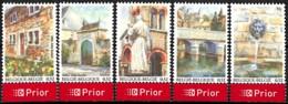 [154680]TB//**/Mnh-Belgique 2006 - N° 3541/45, La Wallonie Idyllique, Du Bloc 132, Vacances & Tourisme, SC, SNC - Neufs