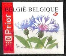 [154682]TB//**/Mnh-Belgique 2006 - N° 3548, Bleuet Des Champs, ND à Gauche, Permanent, Fleurs, Adhésif, SNC - Neufs