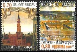 [154691]TB//**/Mnh-Belgique 2006 - N° 3550/51, La Hanse, Bruges Et Anvers, Brugge En Antwerpen, SC, SNC - Neufs