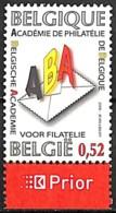 [154693]TB//**/Mnh-Belgique 2006 - N° 3553, ABA, Académie De Philatélie, SNC - Neufs