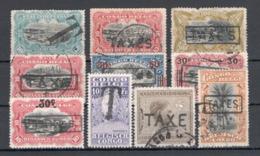 BELGISCH CONGO: Strafportzegels GESTEMPELD - Belgisch-Kongo