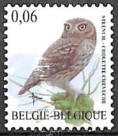 [154790]TB//**/Mnh-Belgique 2007 - N° 3672, Chouette Chevêche, Buzin, Oiseau, SNC - Oiseaux