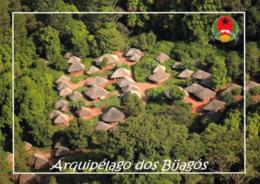 1 AK Guinea-Bissau * Blick Auf Ein Dorf Im Bijagos-Archipel - Eine Inselgruppe Im Atlantischen Ozean * - Guinea-Bissau