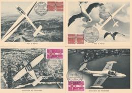 CM OBLIT. GF ILLUSTREE EXPO. AMIS Du MUSEE De L'AIR + FDC 1340/1341 - MAI 62 - 1960-69