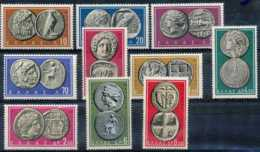 [65348]TB//**/Mnh-N° 675/84, Monnaies Anciennes, Sujets Divers, Mythologie, Animaux - Griechenland