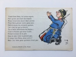 AK CP Satire Spot Soldat Collection Rigot Nancy - Oorlog 1914-18