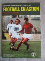 Album Vignettes Football En Action Championnat De France 1971 1972 AGE ( Pas Panini ) Avec Poster équipe De France - Soccer