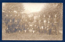 Carte-photo. Soldats Allemands. Feldpost Speyer. Photo Hans Lacher, Landau. Juin 1916 - Guerra 1914-18